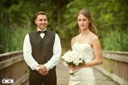 Wedding Photography of Callie & Fraser Contemporary Arts Center of Virginia