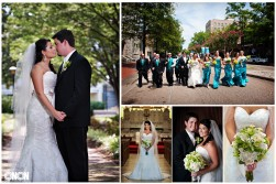St Paul's Catholic Church Wedding Photographer Portsmouth Virginia