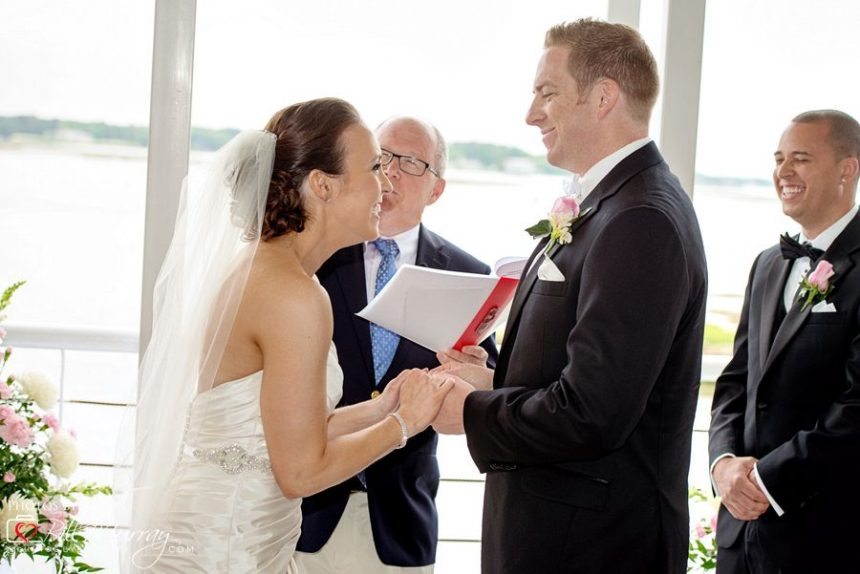 lesner inn wedding ceremony photo