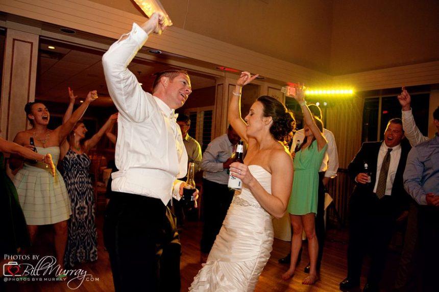 lesner inn wedding photo during the reception