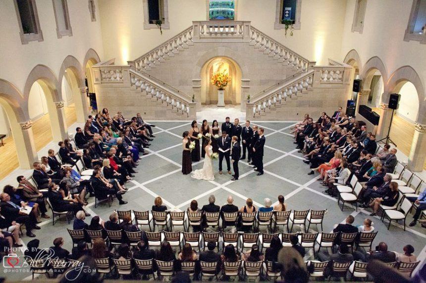 chrysler museum wedding photo ceremony