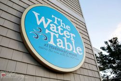 water table virginia beach sign